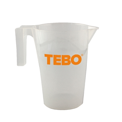 Graduated Pitcher 2 L From Tebo Byggtillbeh 246 R